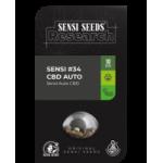 SENSI #34 CBD AUTOFLOWERING 5 kom S.S.